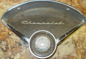 1955/56 Chevrolet Passenger Side Speaker Grille and Bezel Strathcona County Edmonton Area image 1