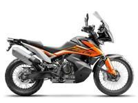 2019 KTM 790 Adventure 790 Adventure Petrol orange Manual