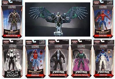 Set Of 7  8 With Baf  Marvel Legends Spider Man Homecoming Vulture Baf Pre Order
