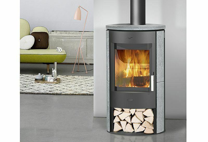 Fireplace Zaria Kaminofen Speckstein