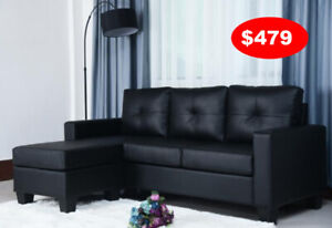 Sectional Set leather