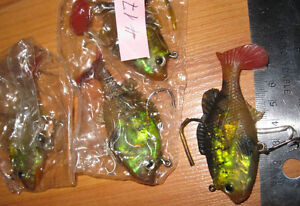 Fishing lures (bass, pike, walleye - wobblers, crank-baits) #2 West Island Greater Montréal image 9