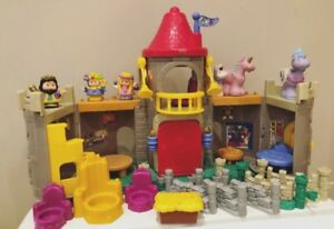 Fisher Price Little People Castle set and extras