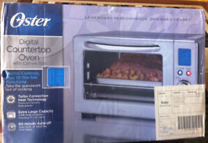 Oster Digital Countertop Oven with Convection (Brand New)