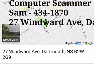 Refurbished Computer SCAMMER IN DARTMOUTH