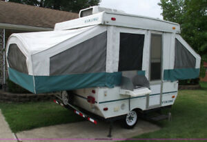 Viking Pop Up Trailer in excellent condition