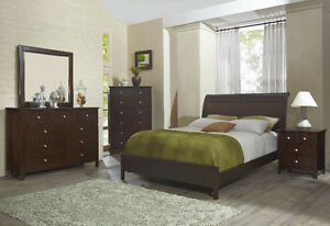 Brand New Queen or King Complete Bed