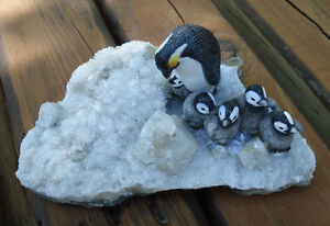 Hand Crafted Penguin Family Peterborough Peterborough Area image 4