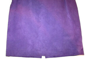 DANIER Leather Purple Suede Skirt Gatineau Ottawa / Gatineau Area image 3