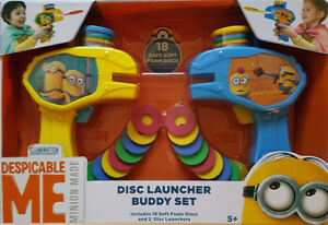Brand New Never Opened – Despicable Me Disc Launcher Buddy Set