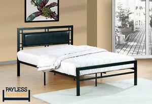 NEW! ★ Metal platform Beds ★  Twin/Full/Queen ★ Can deliver Kitchener / Waterloo Kitchener Area image 3