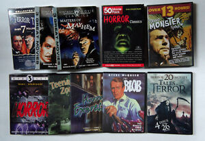Collection of 41 Vintage Horror Classics and Sci-Fi Classics