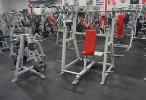 Commercial Fitness Equipment Body Master Seated Military Press