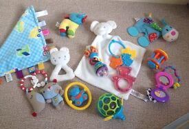 Newborn + baby toys bundle