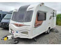 Bailey Unicorn Seville Luxury Compact Caravan with Motor Mover