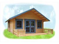 LilleVilla 220 Log Cabin