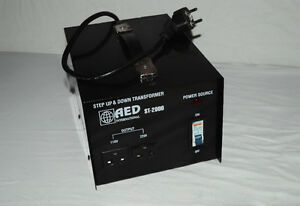 AED Step Up & Down Voltage Transformer