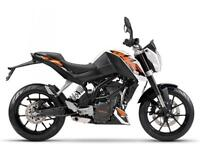 2016 KTM 125 DUKE WHITE, BRAND NEW! ON THE ROAD