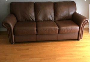 Leather couch - ONLY $100