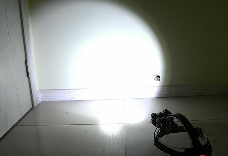 50000LM LED Headlamp 5 Head CREE XM-L T6 18650 Headlight Flashlight Torch Light Camping & Hiking