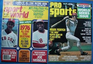2 1976 SPORTS MAGS (PRO SPORT & SPORTS WORLD)