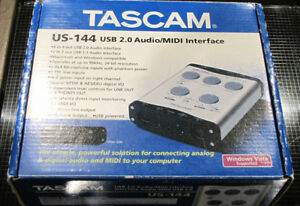 Tascam US-144 USB 2.0 Audio/MIDI Interface