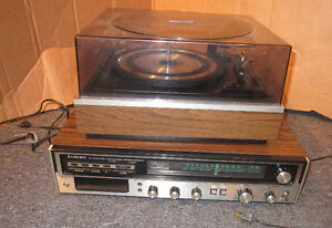 Lloyds 8 track and AM/FM Stereo system with Record Player