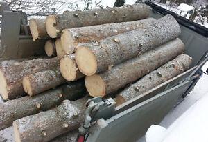 Billots de bois en longueur (épinette)