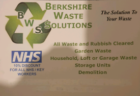 BERKSHIRE WASTE SOLUTIONS SAME DAY RUBBISH CLEARANCE Berkshire