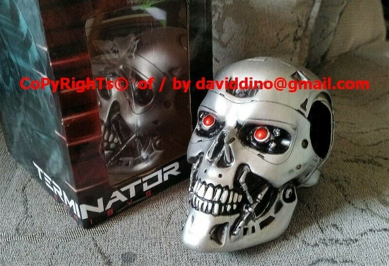 ~~~ TeRMiNaTor HaLF SCaLe SkuLL by Loot CRaTe OnLy $12 ~~~