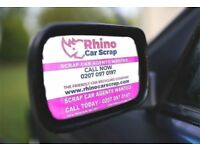CAR DEALERS WANTED-Free Cars - 80-120 Cars and vans a day - CALL 0207 097 0197 | RHINO CAR SCRAP