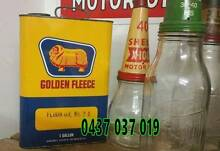 WTB Oil Bottle Enamel SIGNS Tin Cans The Hill Newcastle Area Preview