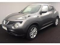 2015 GREY NISSAN JUKE 1.5 DCI ACENTA DIESEL HATCHBACK CAR FINANCE FR £29 PW