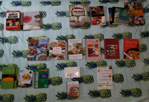 Cook, diet and drink books