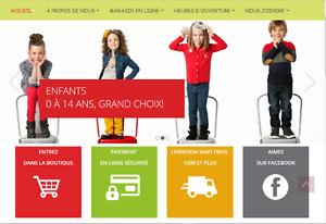 www.bebemeghan.ca - Friperie en ligne pour enfants 0 à 14 ans !