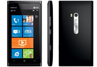 Nokia lumia 900 with charger Locked to Rogers and will work with