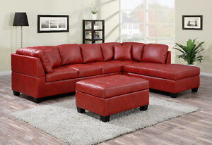 Brand New Sectional with Ottoman