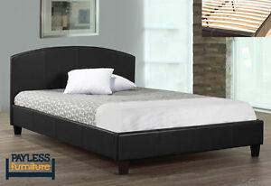 NEW ★ Queen Bed ★ Covered in Leatherette ★ Can Deliver