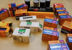 SEEKING ALL FILM - EXPIRED OR NEW - ALL SIZES - 35mm,120, Etc.