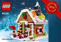 Lego 40139 Gingerbread House, New