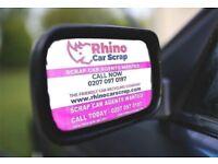 CAR SCRAP AGENTS-FREE TRIAL-Up to 120 leads - FREE | Call 07528 487000 | RHINO CAR SCRAP