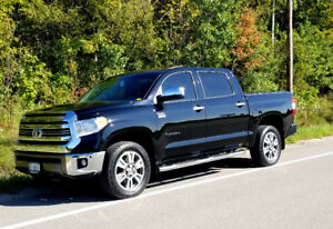 2017 TOYOTA TUNDRA PLATINUM 1794 LOW KMs LOTS OF EXTRAS