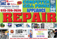 ** OTTAWA  APPLIANCES  REPAIRS BEST SERVICES IN TOWN  ***