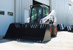 Jenkins HEAVY DUTY Snow & Material Bucket Skidsteer Attachment London Ontario image 2