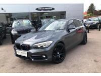 2016 BMW 1 Series 116D Sport INCLUDING VAT, 19INCH WHEELS, Diesel grey Manual