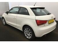 2012 WHITE AUDI A1 1.6 TDI SPORT DIESEL MANUAL 3DR CAR FINANCE FROM 25 P/WK