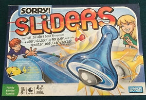 Sorry Sliders Board Game 2008 Parker Brothers