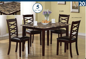 Brand New- Dining set from $259.99 (picture 9)up - free delivery