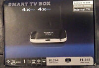 Smart Tv Streaming Box!! Why Pay For Cable? Save $$$ Now!!