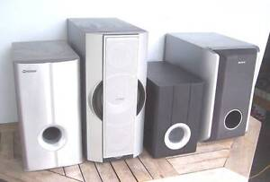 Selection of Sub Woofers..Plus Inala Brisbane South West Preview